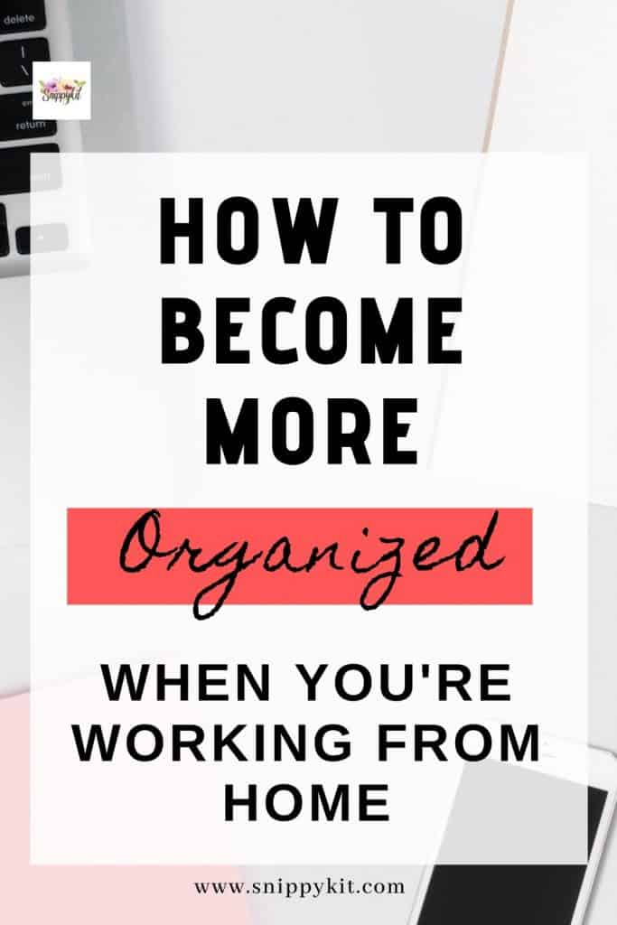 Tried-and-true work from home organization tips to help you take your workday to the next level, every day. Getting more done and staying focused feels good!