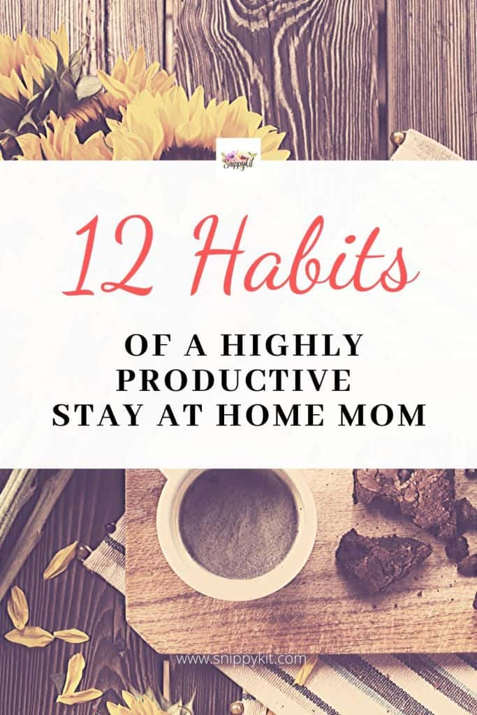 A summary of lessons I've learned from becoming a productive stay at home mom including advice to those contemplating becoming one too.